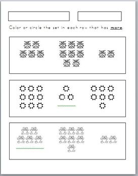 more less equal equivalent worksheet activities 9 included by pre k pages. Black Bedroom Furniture Sets. Home Design Ideas