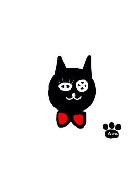 More lovey black cat