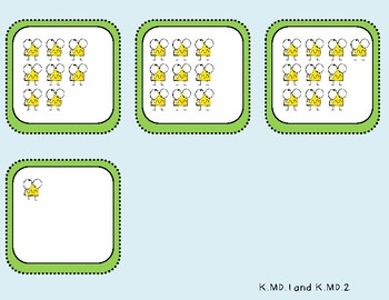 More of Less of Student Mat (Kindergarten-K.MD.1 and K.MD.2)