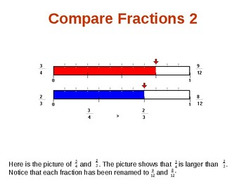 More on Comparing Fractions