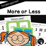 More or Less (Kindergarten)