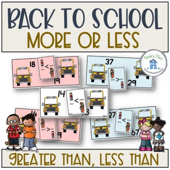 More or Less - Back to School Theme
