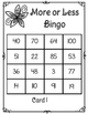 More or Less Bingo: One More, One Less, Ten More, Ten Less: TEKS 1.2D