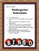 More or Less Blackout Bingo with Domino Cards