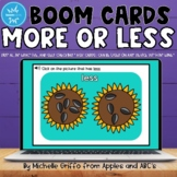 More or Less Boom Cards / Distance Learning