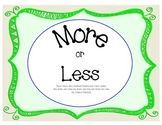More or Less Card Game - One More, One Less, Ten More, Ten Less