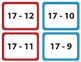 More or Less Card Game (Subtraction 0-20) 1st/2nd Grade COLORED