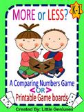 FREEBIE Math Games for Kindergarten to Grade Two~ Hands-On Fun