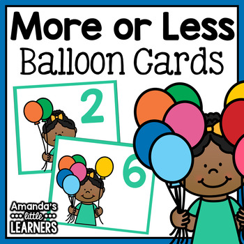 More or Less Game - Balloons