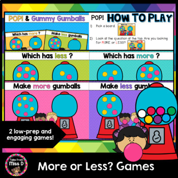 More or Less Games