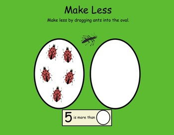 More or Less Interactive Smartboard Activities for Kindies