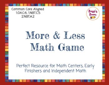 More or Less Math Game