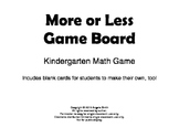 More or Less? Math Game for Kinders