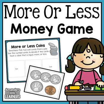 More or Less Money Game