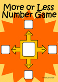 More or Less Number Game - TeachLearnCreate
