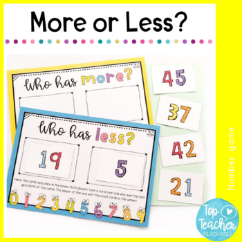 More or Less? Number Games