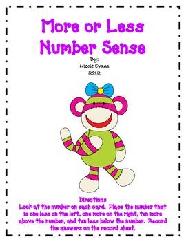 More or Less - Number Sense