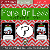 More or Less Numbers 1-10: Christmas Edition (SMART Notebook)