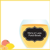 More or Less Punch Bowls FREEBIE