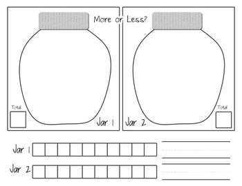 More or Less Worksheet