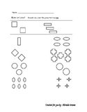 More or Less Worksheet3