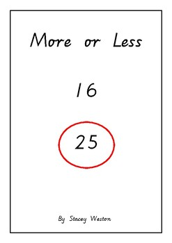 More or less digits adapted book