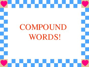 More practice with compound words PowerPoint Presentation