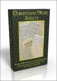 More than 500 public domain Christmas Carols Sheet Music on DVD