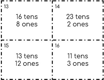 More than 9 Ones and 9 Tens