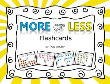 More/Less Flashcards