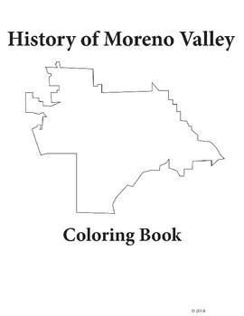 Moreno Valley History Coloring Book
