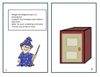 Morgan the Magician Interactive Story Book for Irregular Plurals