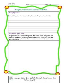 Morgan's Zoo Literature and Grammar Unit