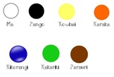 Māori Colours Display