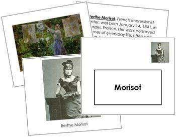 Morisot (Berthe) Art Book