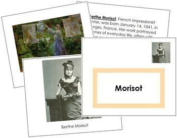 Morisot (Berthe) Art Book - Color Border