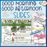 Morning & Afternoon Slides {New Year's, Winter, Valentine'