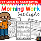 Morning BOOSTER Work: Preschool to Kindergarten - Set Eight