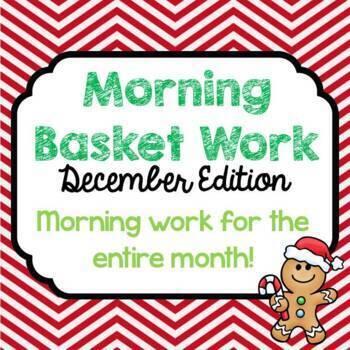 Morning Basket Work {December}