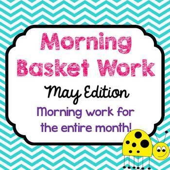 Morning Basket Work {May}