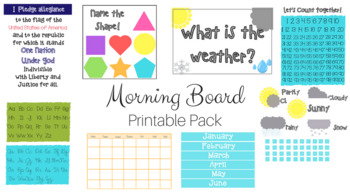 Morning Board Pack