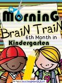 Morning Work - Math & Literacy {Morning Brain Train 6th Mo