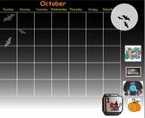 Morning Calendar Aug through Dec