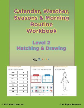 Morning Calendar:  Days of Week, Months, Seasons and More: Level 2