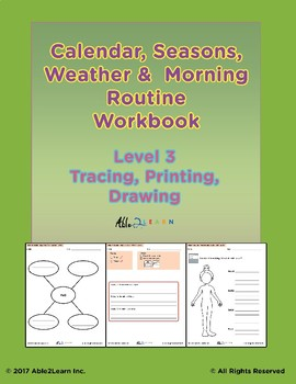 Morning Calendar:  Days of Week, Months, Seasons and More: Level 3