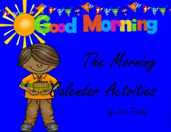 Morning Calendar  ***For All Year!***