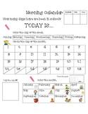Morning Calendar Freebie