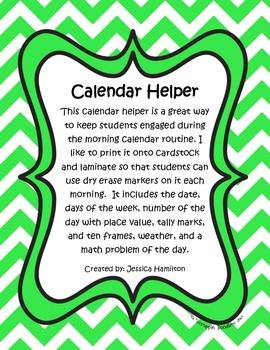 Morning Calendar Helper