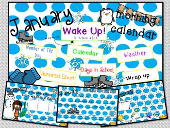 Morning Calendar- January