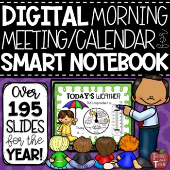 Morning Calendar Lessons for the Smartboard